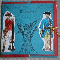 American History Lapbook Example