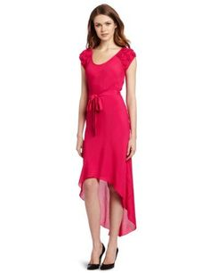 Yoana Baraschi Women's Party Angel High-Low Dress, Glam Pink, Small Yoana Baraschi,http://www.amazon.com/dp/B008TS2HTW/ref=cm_sw_r_pi_dp_ZtiWrb1BRT1F7HP5