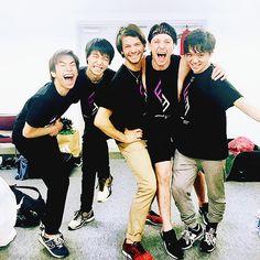 FaOI 2017 - They so cute~  (Nobu, Yuzu, Stephane, Johnny, Shoma)