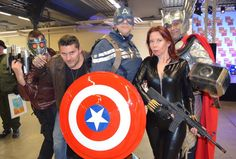 Paris Comics Expo 2016 #TeamCaptainEvreux