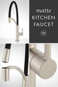 Spinoza Single Hole Kitchen Faucet