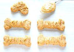 Peanut Butter Dog Treat 5-001