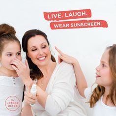 Dr. Jetske Ultee | Uncover Skincare | Live Laugh Wear Sunscreen #quote #sun #sunscreen #protection #lifestyle #spring #summer