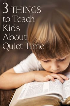 Before we can get to the business of helping our children develop a quiet time, we need to teach them a few things.  These three tips will keep them from buying into the guilt and empower them to succeed in this crucial habit.