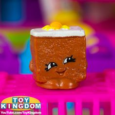 Carrie Carrot Cake from Shopkins Season 2 #shopkins #shopkinsseason2 #series2 #cute #kawaii #adorable