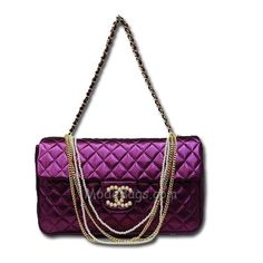 Shades of Purple - Chanel Chanel Fashion, Fashion Bags, Fashion Accessories, Coco Fashion, Chanel Couture, Chanel Handbags, Purses And Handbags, Chanel Bags, Gabrielle Bonheur Chanel