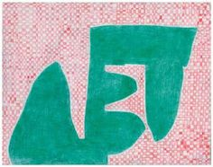 Thomas Nozkowski, Untitled (MH-18), 2014. Colored pencil on paper, 11 x 14 inches. Courtesy of Pace Gallery, New York