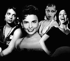 Lena Horne,  Nina Mae, Dorthy Dandridge & Josephine Baker....