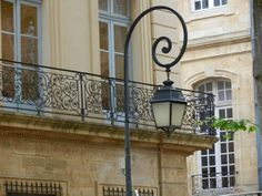 My Faux French Chateau: Favorite French Things Friday - Ornamental Wrought Iron Window Boxes and Balconies