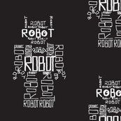 Robot calligram 2 by Blue_jacaranda
