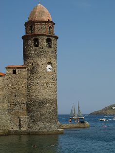 Collioure, France lighthouse