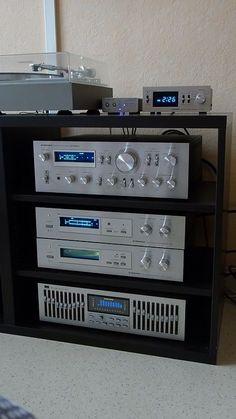 Cambridge Audio DacMagic Pioneer Pioneer Pioneer Pioneer et Sansui / Blue Audio Hifi, Audio Music, Audio Sound, Hifi Stereo, Dj Sound, Radios, Hi Fi System, Audio System, Audio Vintage