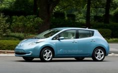 What World Record did the Nissan Leaf break in 2012?