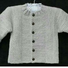 An all-garter central panel & perpendicular sides + sleeves - this works not only for babies but for grown-up cardis too. Just go up a few needle sizes & yarn weight
