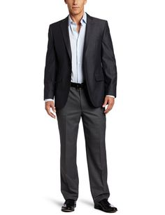Joseph Abboud Men's 2 Button Side Vent Sport Coat, Navy, 42 ShortMade in the usa - 2 button, side vent navy sport coat Click Pic for More Info