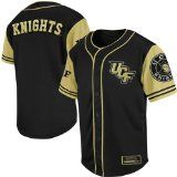 A new Black and Gold Baseball jersey from Colosseum came out. It features the UCF logo on the upper left chest and Knights across the back of the baseball jersey. The baseball jersey is 100% polyester.