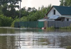 Russia Far East Floods - Although much of Russia is in Europe, the Far Eastern Region stands in Asia, close to the border with China.