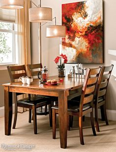 Maximize Your Space By Pushing Your Dining Table Against The Wall If You  Donu0027t