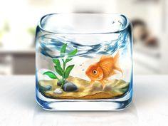rosetta-fishbowl iOS app icon
