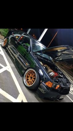 Cult Car Art Mug BMW 328 Garage
