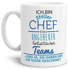 Mug with saying Chef - Coffee Cup / Mug / Cup - Quality Made in Germany gift chef mug print - BASTELN - crafts home Home Crafts, Diy And Crafts, Cup Decorating, Mug Printing, Mug Cup, Mug Designs, Coffee Cups, Coffee Time, Germany