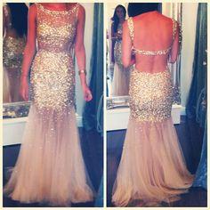 Backless prom dresses, mermaid prom dresses, sequin prom dresses, gold prom dresses, dresses for prom Sequin Prom Dresses, Prom Dresses 2015, Backless Prom Dresses, Tulle Prom Dress, Mermaid Prom Dresses, Dress Up, Formal Dresses, Dresses Dresses, Party Dress