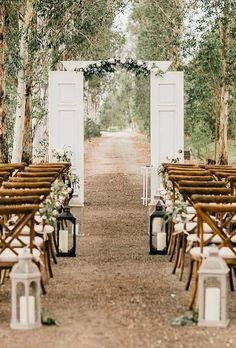 39 Perfect Rustic Wedding Ideas ❤ rustic wedding ideas wedding aisle abovetherestevents #weddingforward #wedding #bride
