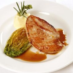 Breast of Pheasant with Orange and Ginger Sauce