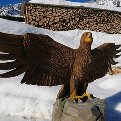 Steinadler Bald Eagle, Bird, Animals, Atelier, Golden Eagle, Wood Art, Stones, Animais, Animales