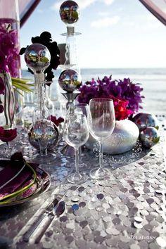 Impressive Wedding Reception Ideas from Karen Tran Florals - Photography: Mike Adrian; wedding centerpiece idea