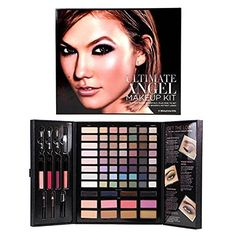 Victorias Secret Ultimate Angel Makeup Kit * To view further for this item, visit the image link. (This is an affiliate link) Eyeshadow Looks, Eyeshadow Makeup, Luminous Powder, Translucent Powder, Makeup Kit Essentials, Angel Makeup, Victoria Secret Makeup, Gel Liner, Makeup Designs