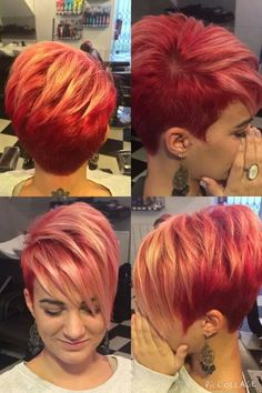 LOVE the cut..I'll keep my own color though.