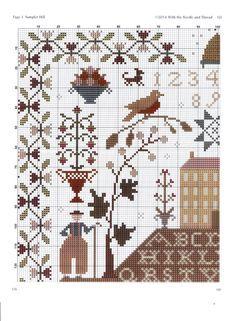 Cross Stitch Sampler Patterns, Cross Stitch Freebies, Cross Stitch Alphabet, Cross Stitch Samplers, Cross Stitch Charts, Cross Stitch Designs, Cross Stitching, Cross Stitch Embroidery, Embroidery Patterns
