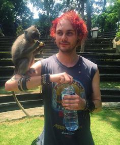 Michael and his bro XD