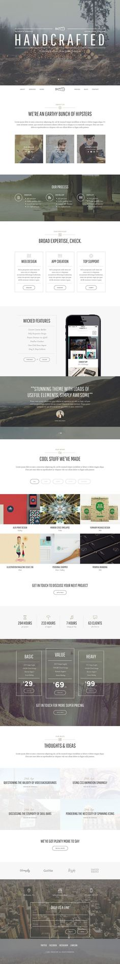 Loves Data Loves || Thread - Multi-Purpose Theme, modern vintage | Hand Made | Web design | Website | Black and White | Photography