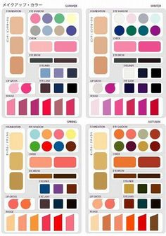 Pin by Eve on Colorimetria maquillaje Deep Winter, Winter Makeup, Spring Makeup, Winter Colors, Spring Colors, Spring Color Palette, Seasonal Color Analysis, Eyeliner, Eyeshadow