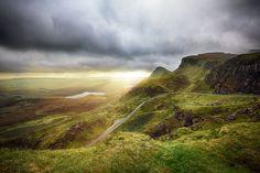 Quiraing, Isle of Skye, Viewpoint, Scotland, Schottland, Insel, Ausblick, Berg, Wandern