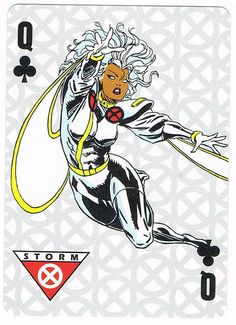 Storm - Queen of Clubs/Wands/Rods by stormantic, via Flickr