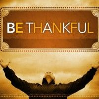 Sunday Inspiration: Being Thankful (positive affirmation and personal reflection exercise).