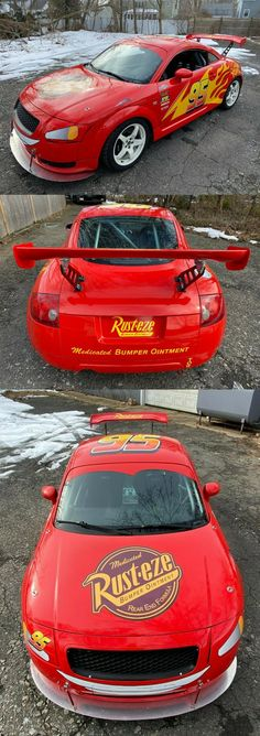 Lightning Mcqueen 2000 Audi TT Race / Track Car One of a Kind! Racing Seats, Racing Wheel, Audi Tt 225, Forge Motorsport, Limited Slip Differential, Lightning Mcqueen, Custom Vinyl, Cool Suits, Cars For Sale