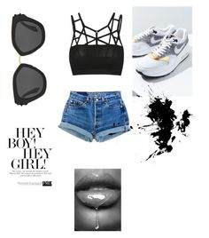 """""""Princess of coolnis"""" by hannahsophie-1 on Polyvore featuring Mode, NIKE und Prada"""