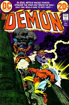 The Demon #5 Jack Kirby
