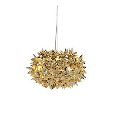 Kartell+Bloom+Metallic+Pendant+Light+S2+-