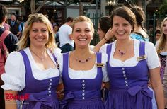 3 #Dirndl @ WEINZELT auf dem Münchner #Oktoberfest.