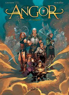 Angor (Intégrale) - (Dimitri Armand / Jean-Charles Gaudin) - Heroic Fantasy-Magie [CANAL-BD]