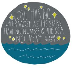 Love has no uttermost… - 365 Days of Hand Lettering: Day 343 by Lisa Congdon