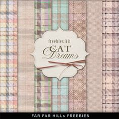 Far Far Hill: New Freebies Kit of Backgrounds - Сat Dreams