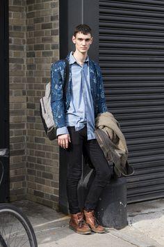 New York Men's Fashion Week street style