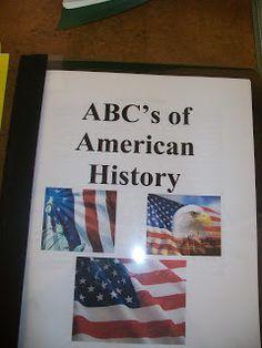 HoJos Teaching Adventures: United States History ABC Books