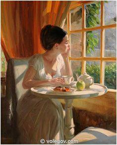 Sunny Breakfast by Vladimir Volegov